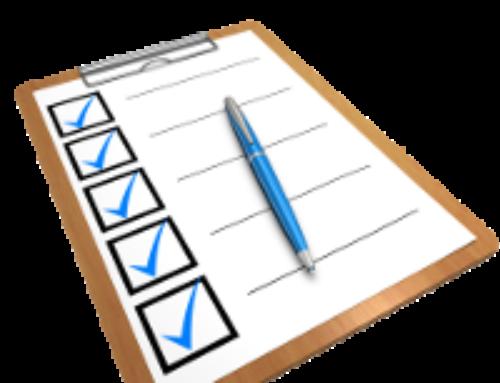 Checkliste Krankenhausaufenthalt